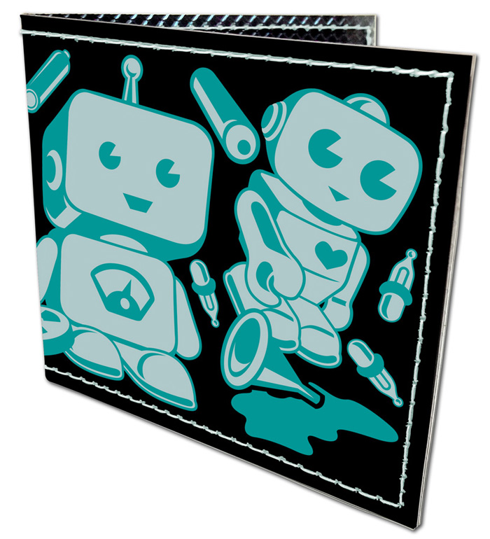 Retro Robot Wallet