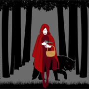 Red Riding Hood Emo T-Shirt
