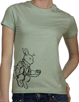 Ex-Boyfriend  	 :: White Rabbit T-Shirt