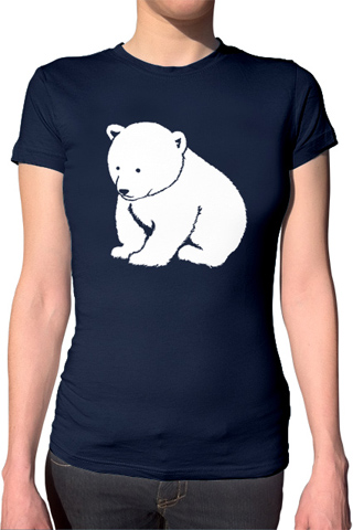Ex-Boyfriend  	 :: Polar Bear T-Shirt :  indie polar bear bear tshirts cute