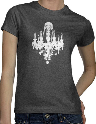 Ex-Boyfriend  	 :: Chandelier Luxe T-Shirt :  indie tshirts cute illustrations