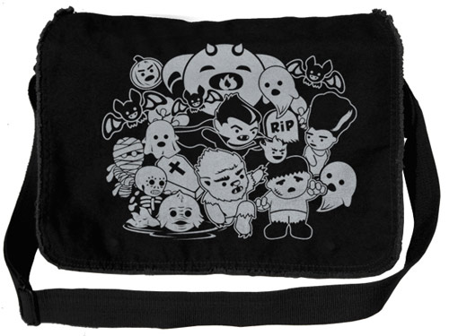 Horror Movie Monsters Cute Messenger Bag