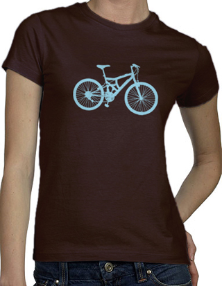 Ex-Boyfriend  	 :: Bike Love T-Shirt :  indie bike bicycle chocolate modern urban ecofriendlygreen tshirts cute