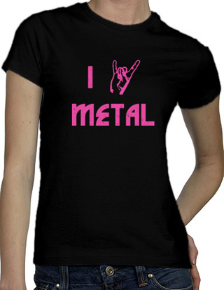 Ex-Boyfriend  	 :: I Devil Horns Metal T-Shirt