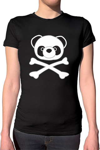 Ex-Boyfriend  	 :: Pirate Panda T-Shirt :  indie tshirts cute kawaii